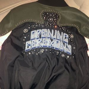 Opening ceremony studded jacket